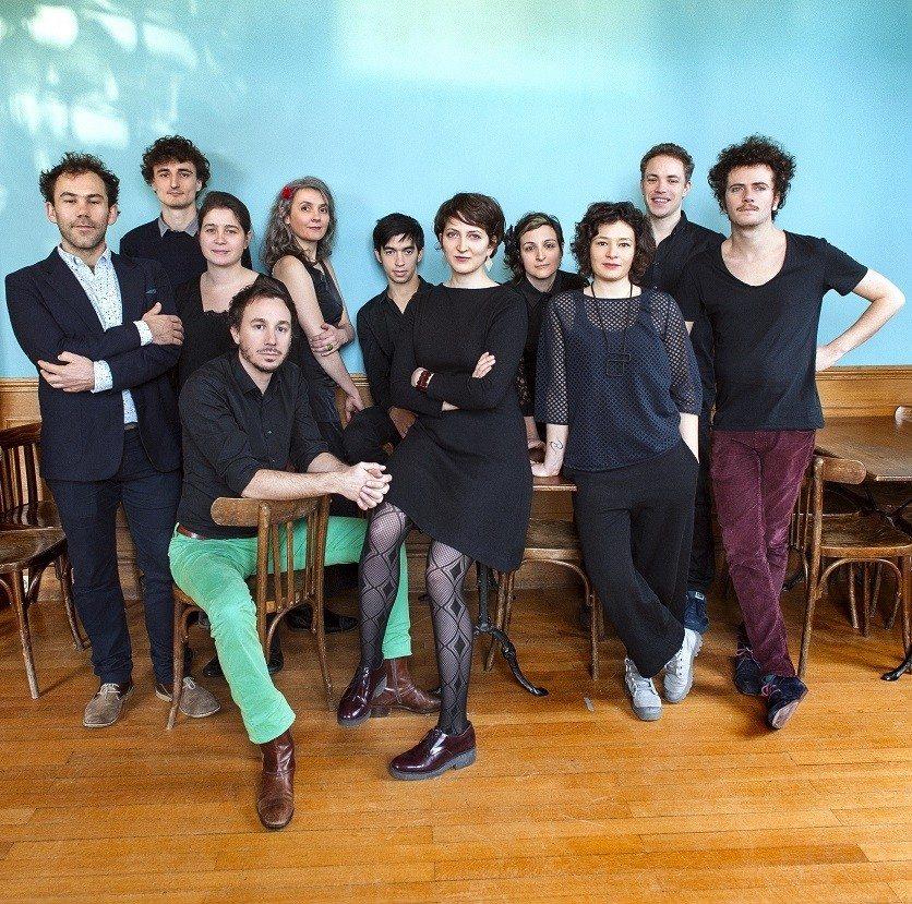 White desert Orchestra Eve Risser Les Sables-d'Olonne