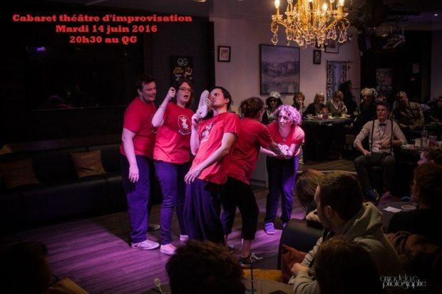 Zimproloco cabaret théâtre d'improvisation Saint-Lô