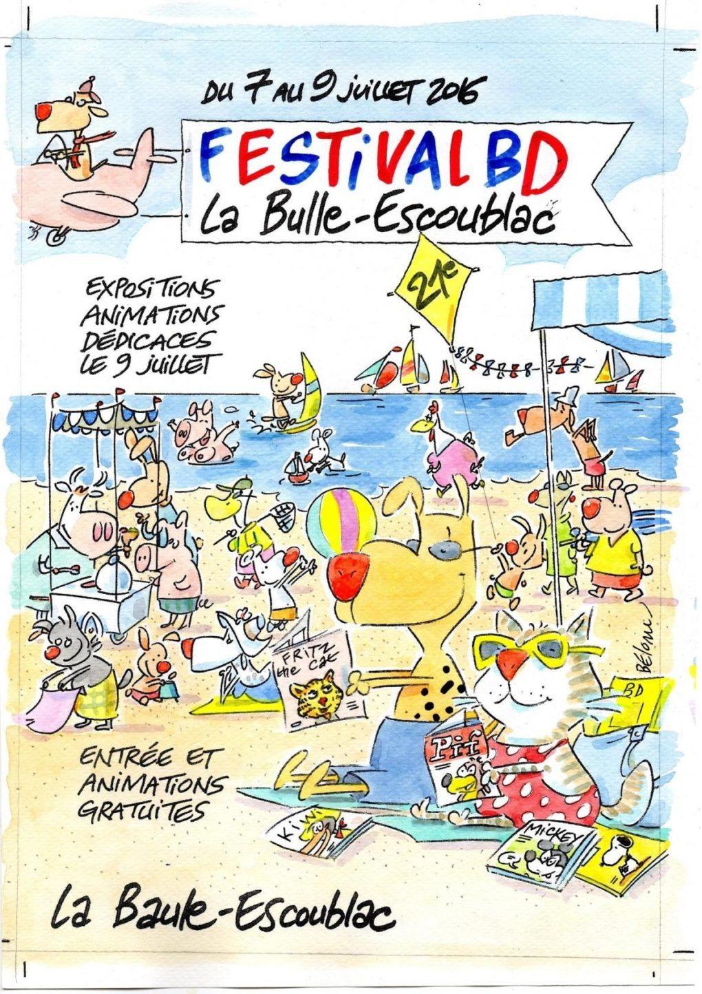 21e festival BD La Bulle-Escoublac La Baule-Escoublac
