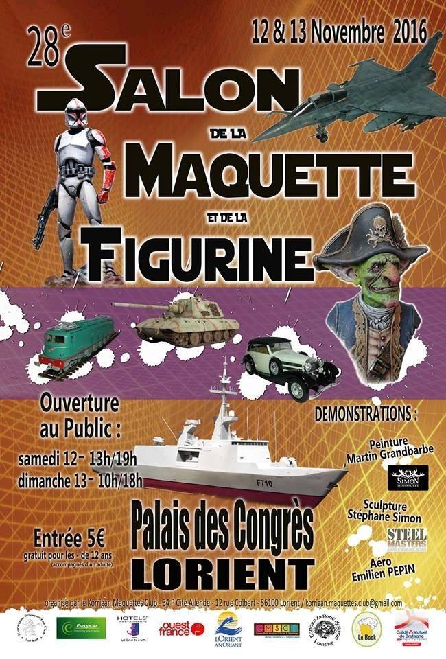 28e Salon de la maquette et de la figurine de Lorient Lorient