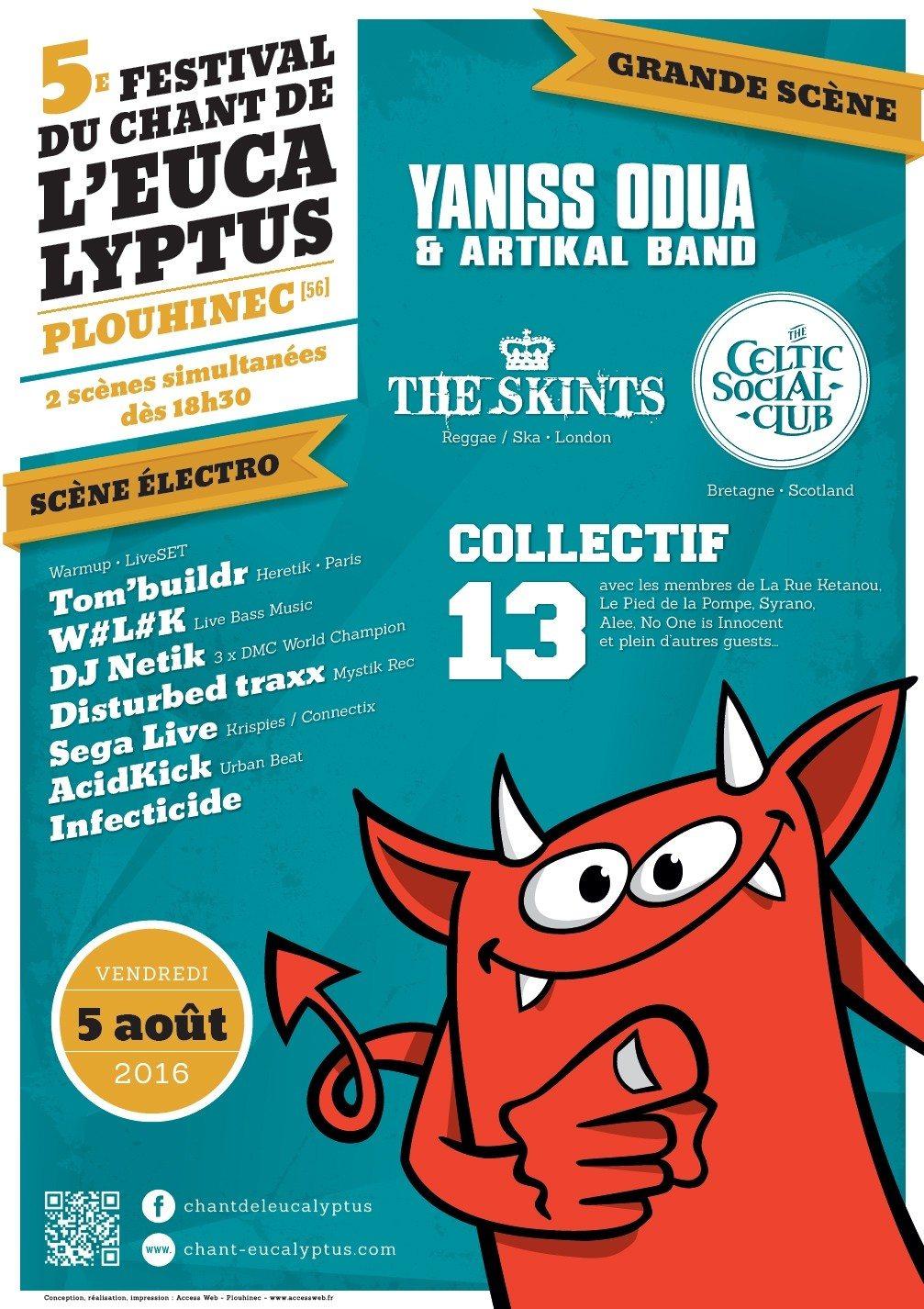 5e édition du festival du Chant de l'eucalyptus Plouhinec