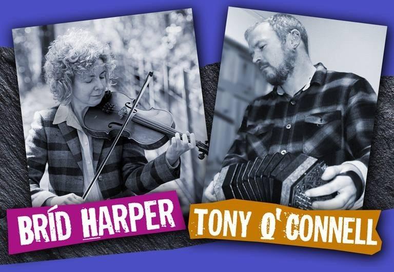 Brid Harper et Tony O'Connell Trégastel