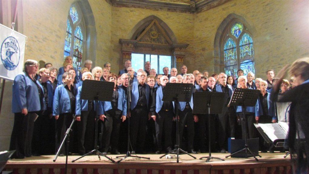 Chorale Iroise concert chapelle de Kersaint-Landunvez Landunvez