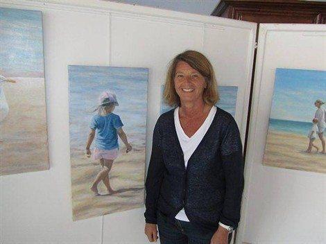 Clarisse Vigneron artiste peintre Jullouville