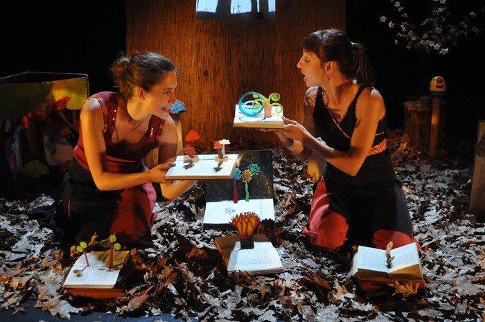 Compagnie Charabia Ma Forêt performance vocale jeune public Rennes