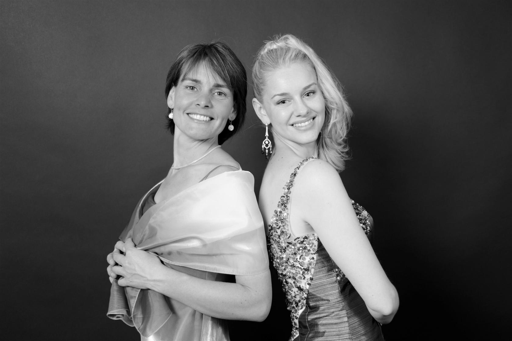 Concert aux bains Claire Foison et Cherise Lukow piano et voix Jublains