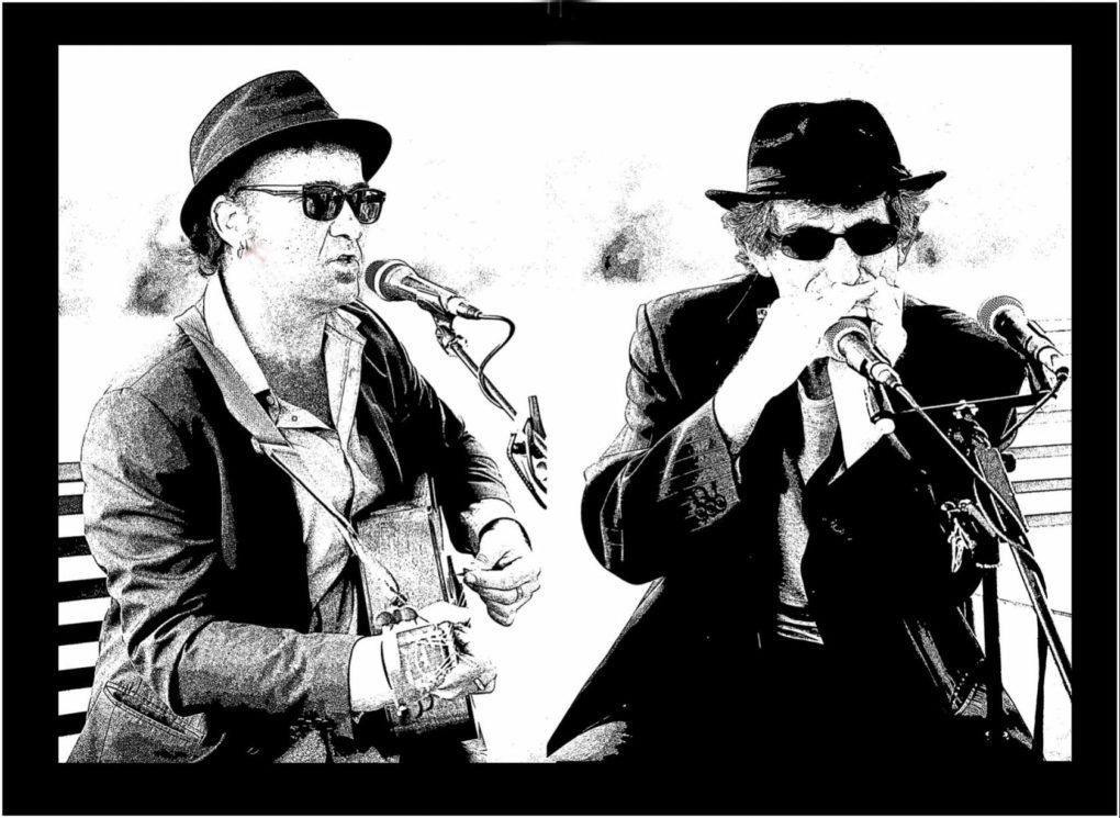 Concert de Two Men in Blue Mesquer