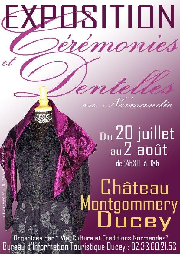 Dentelles et cérémonies en Normandie Ducey