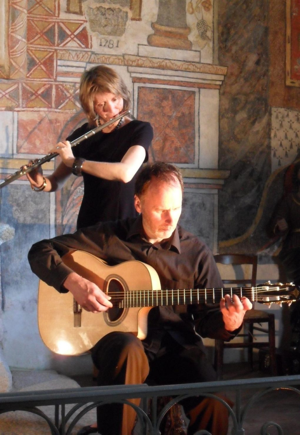 Duo arrin une musique douce et inspirée Penmarch