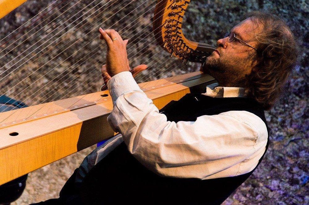 Duo de harpes féeriques Tréhorenteuc