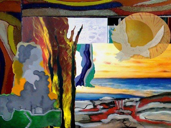 Élèves de l'atelier d'art Tranchais La Tranche-sur-Mer