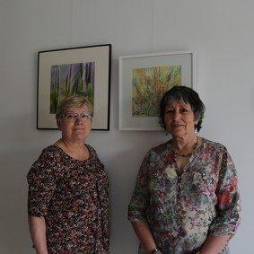 Exposition de photographies aquarelles et pastels Apremont