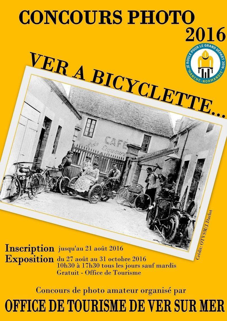 Exposition du concours Ver à bicyclette Ver-sur-Mer
