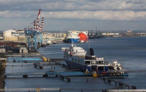 Exposition Les Terminaux portuaires de Montoir en photos Montoir-de-Bretagne
