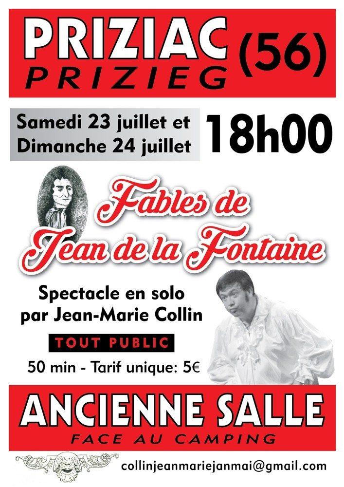Fables Jean-de la Fontaine Priziac