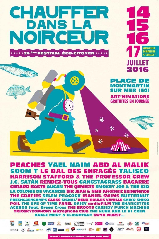 Festival Chauffer dans la noirceur Montmartin-sur-Mer
