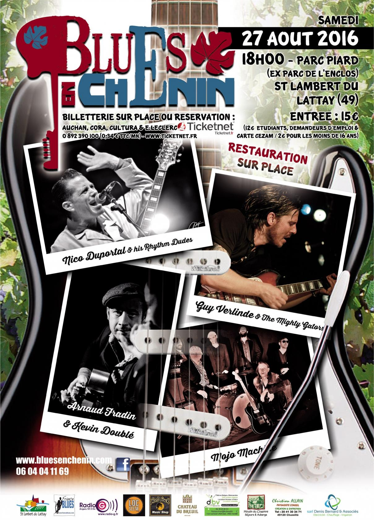 Festival de blues Blues en Chenin Val-du-Layon