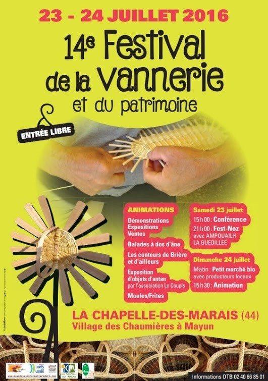 Festival de vannerie La Chapelle-des-Marais
