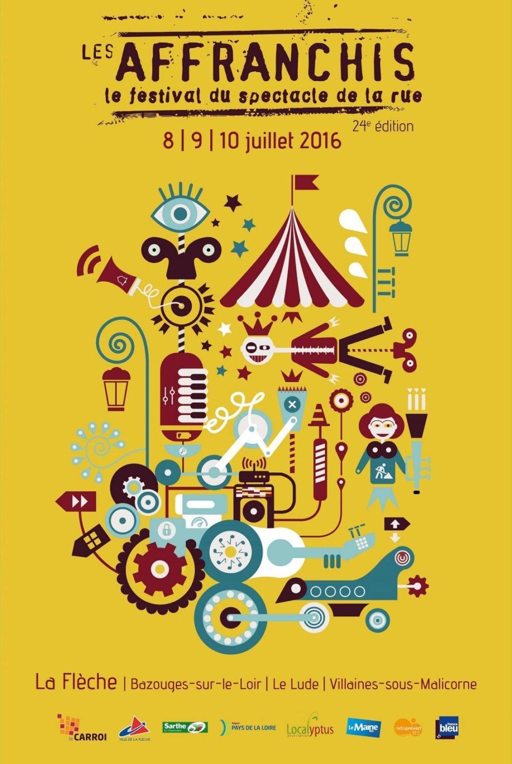 Festival les Affranchis Le Lude