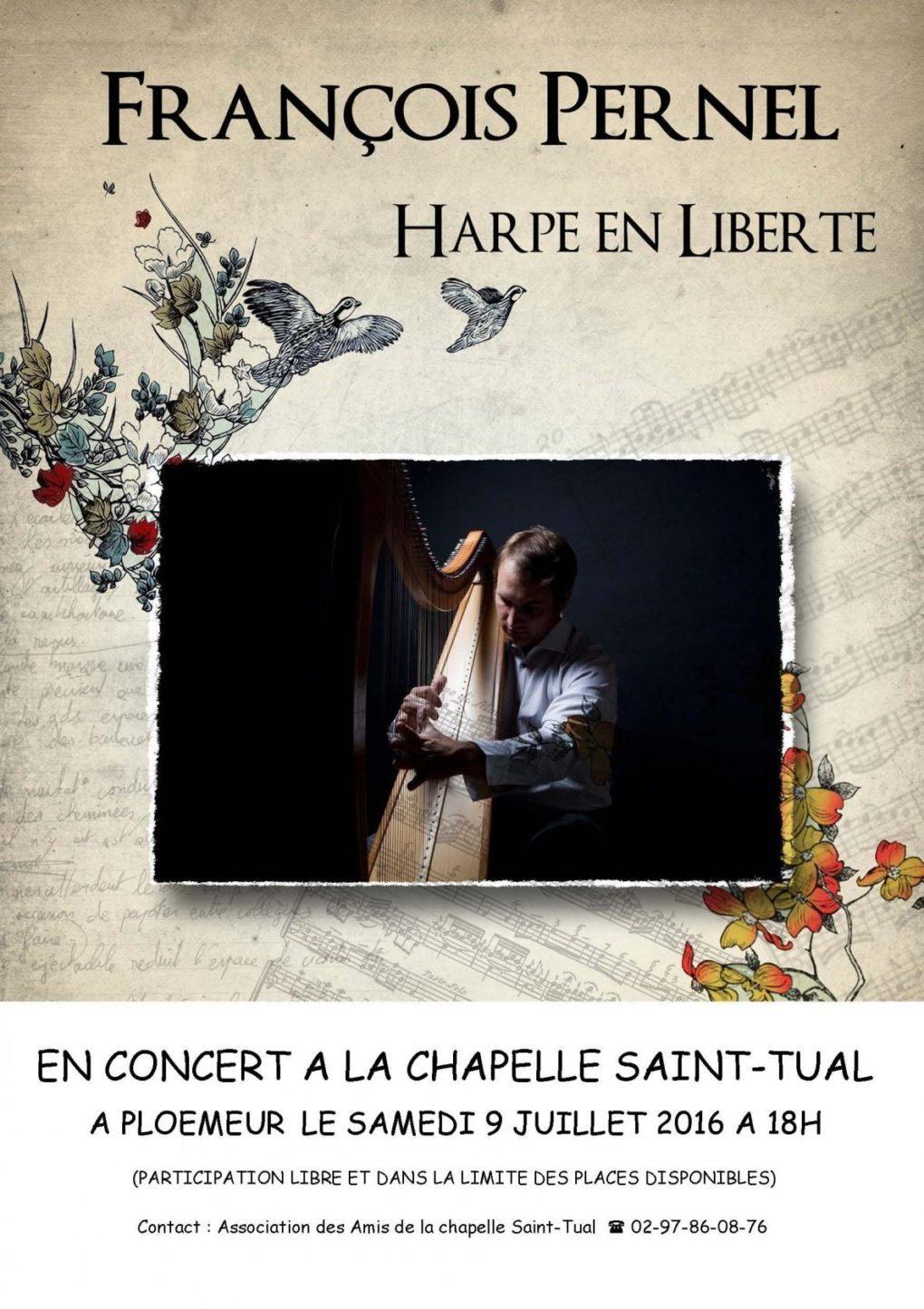 François Pernel harpiste Ploemeur