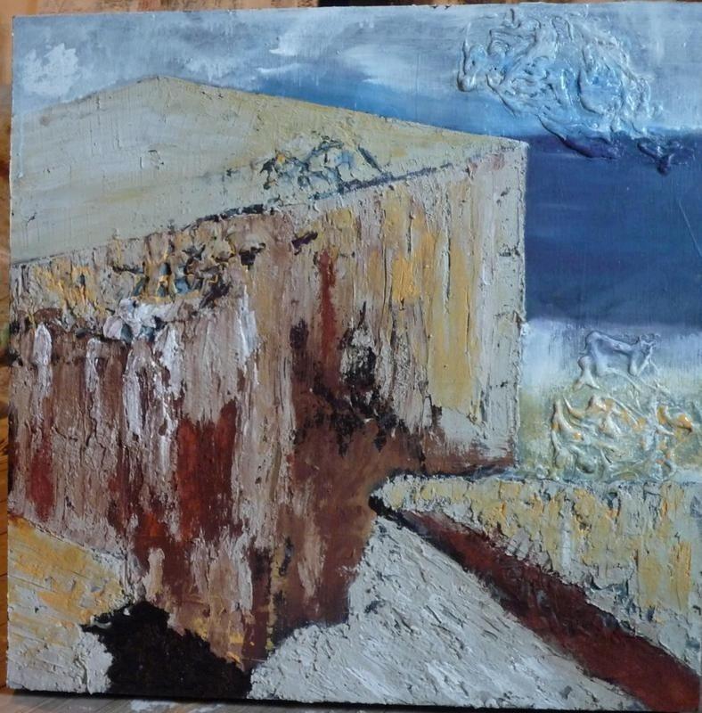 Frédérique Lutz peintre Regnéville-sur-Mer