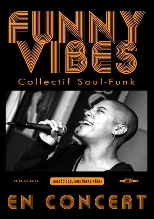 Funny Vibes collectif soul funk Saint-Michel-Chef-Chef