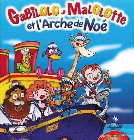 Gabilolo Malolotte et l'arche de Noé Nantes