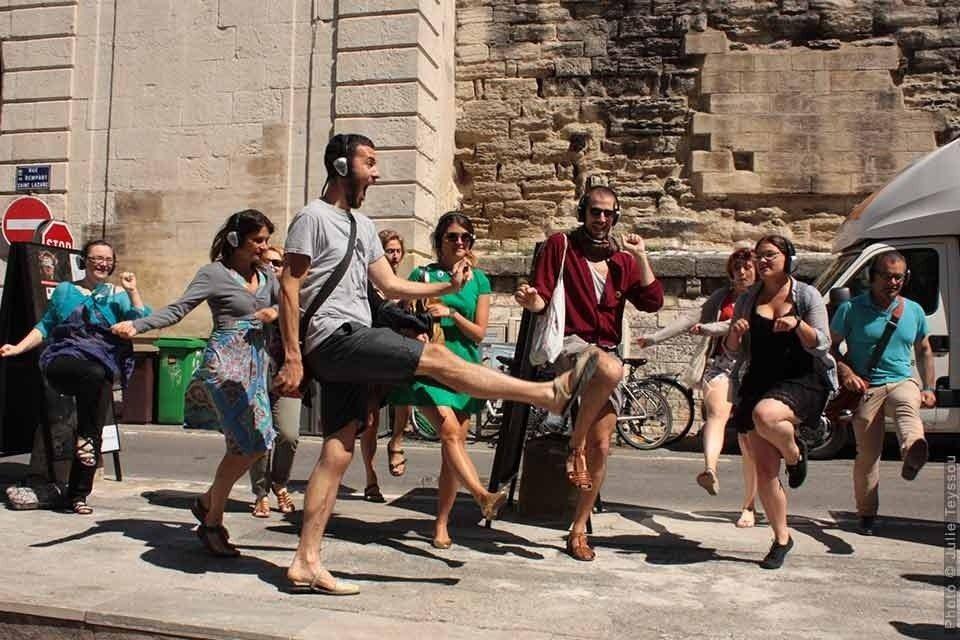 Happy Manif (Walk on the love side) David Rolland chrorégraphie Noirmoutier-en-l'Île