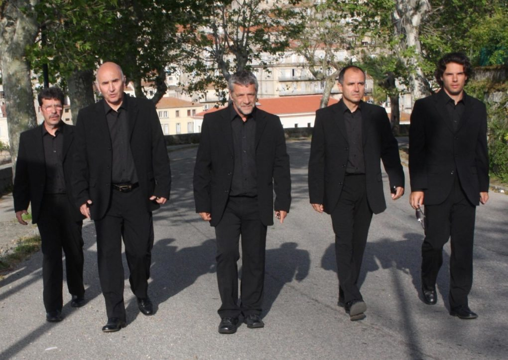 Jean-Paul Poletti et le chœur de Sartène Melgven