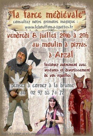 La farce médiévale par la Cie du Bouffon à 5 pattes Arzal