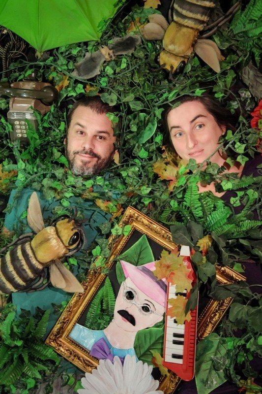 Les Arbres amoureux théâtre d'objet - concert conté Nantes