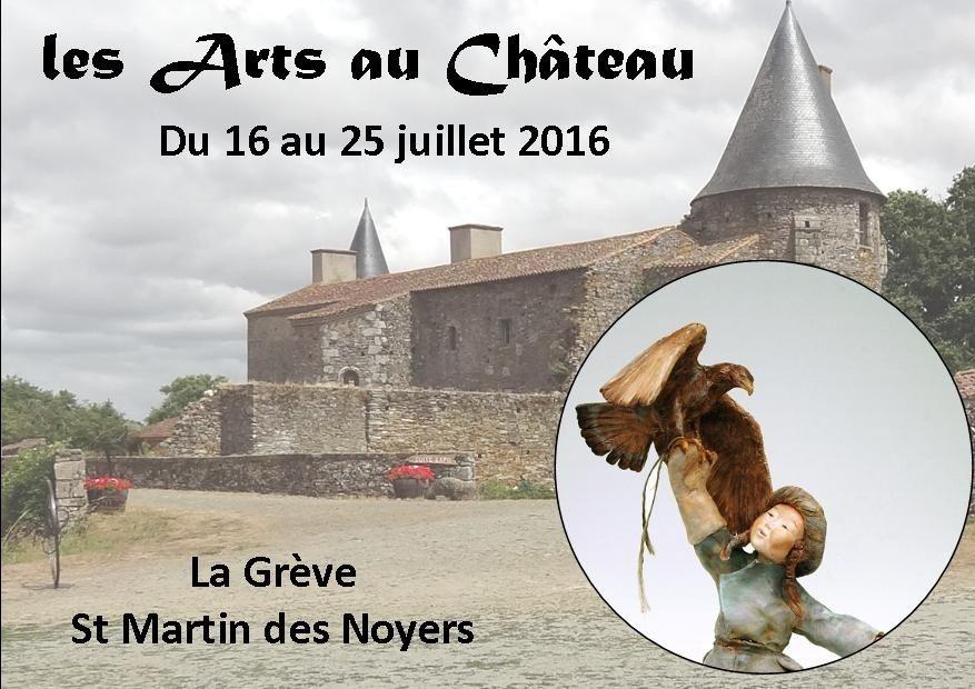 Les arts au château Saint-Martin-des-Noyers
