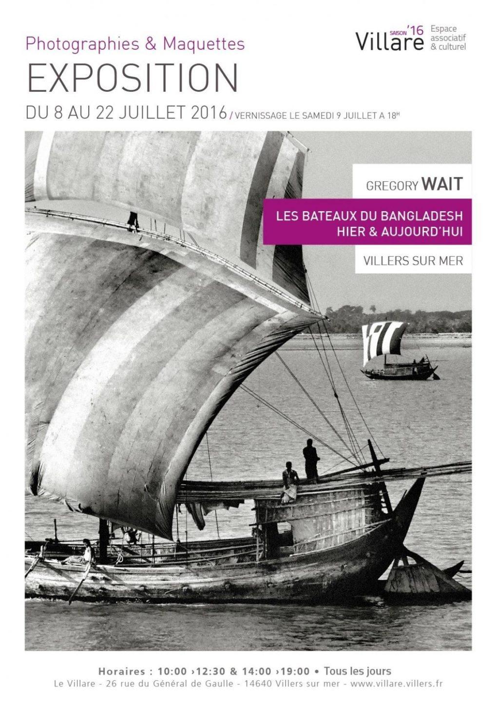 Les Bateaux du Bangladesh Hier et Aujourd'hui Villers-sur-Mer