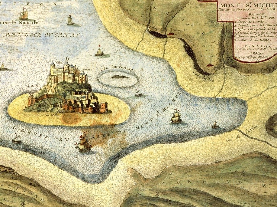 Les cartes de la baie Vains