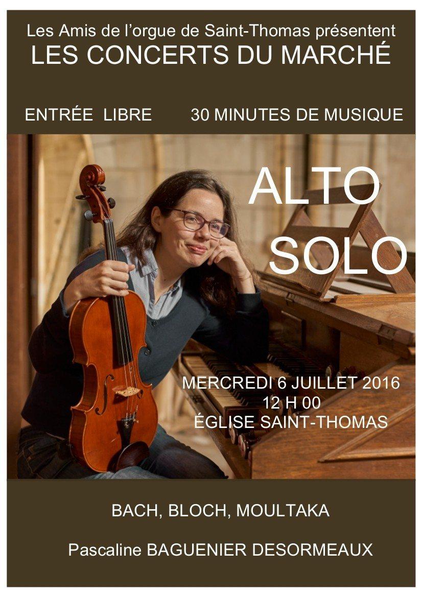 Les concerts du marché à Saint-Thomas La Flèche