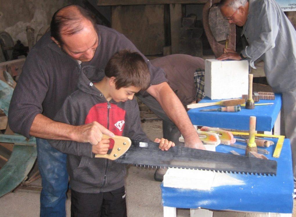 Mardis de l'été initiation au métier de tailleur de pierre Mauges-sur-Loire