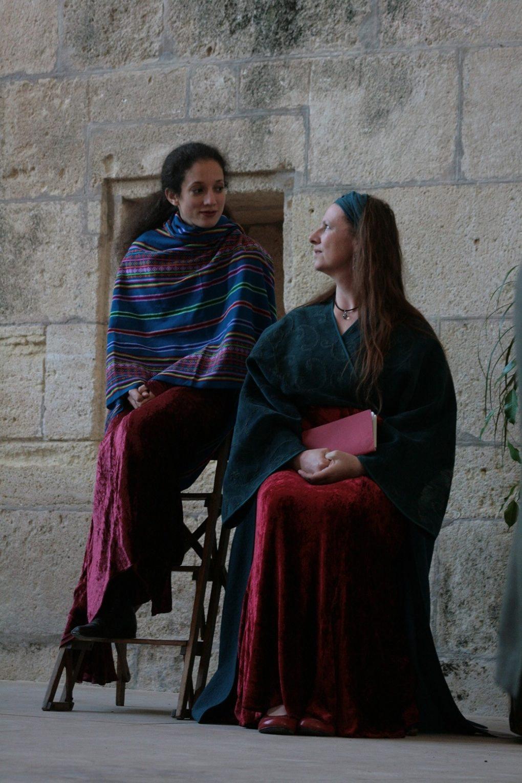 Mora Vocis Femmes au tombeau Bazoches-au-Houlme