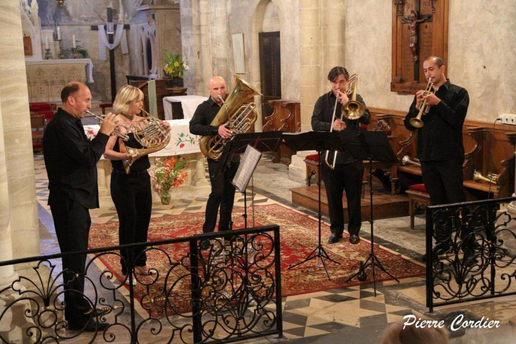 Musique en côte de nacre - Quinquette de cuivres Magnifica Lantheuil