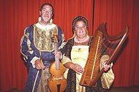 Musique médiévale avec Brian et Glynis Radford Clohars-Fouesnant