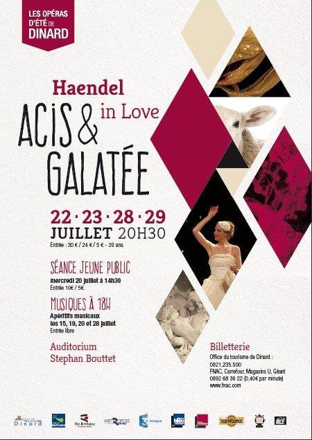 Opéras d'été de Dinard Acis et Galatée Haendel in Love Dinard