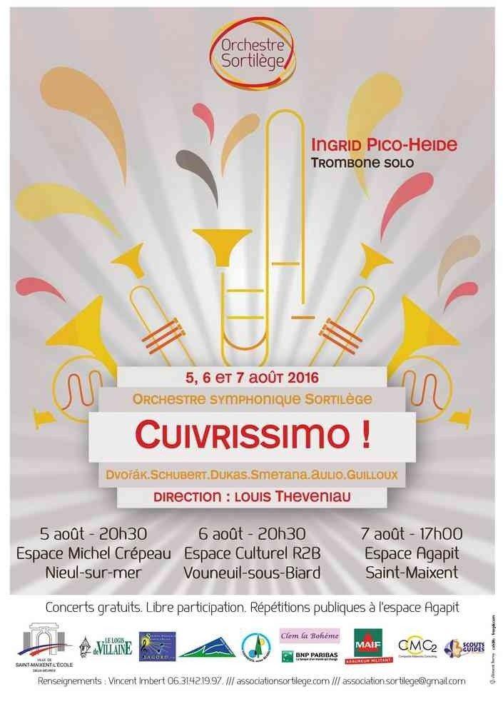 Orchestre Sortilège Cuivrissimo ! Saint-Maixent-l'École