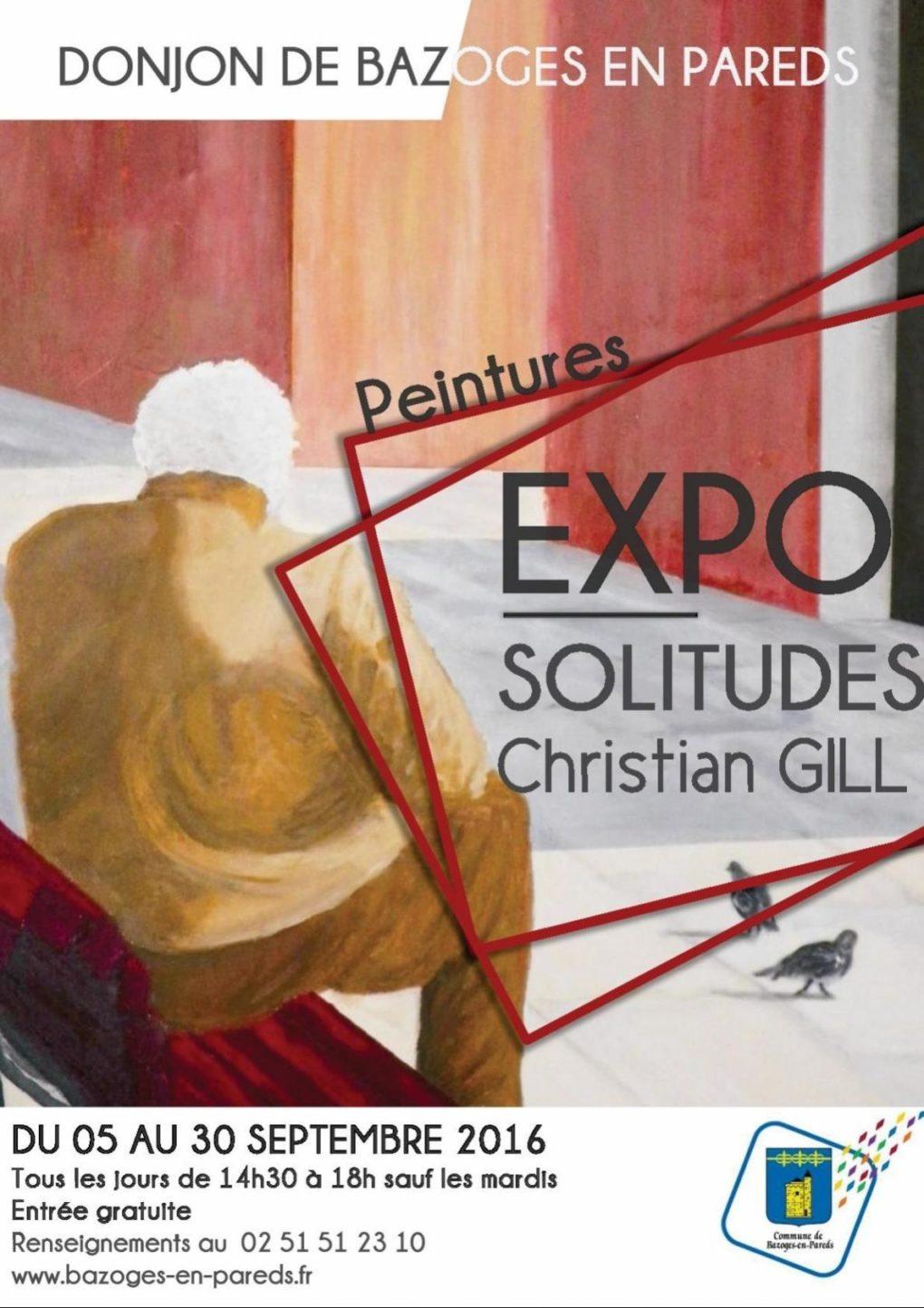 Peintures de Christian Gill Bazoges-en-Pareds
