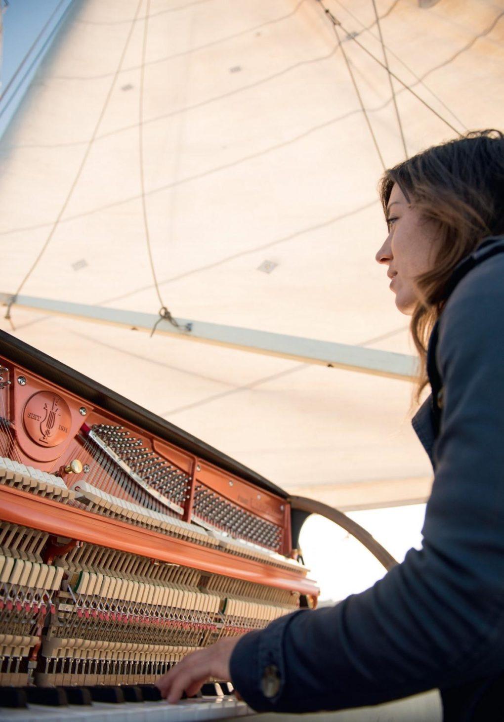 Pianocean sur le Lady Flow Quiberon