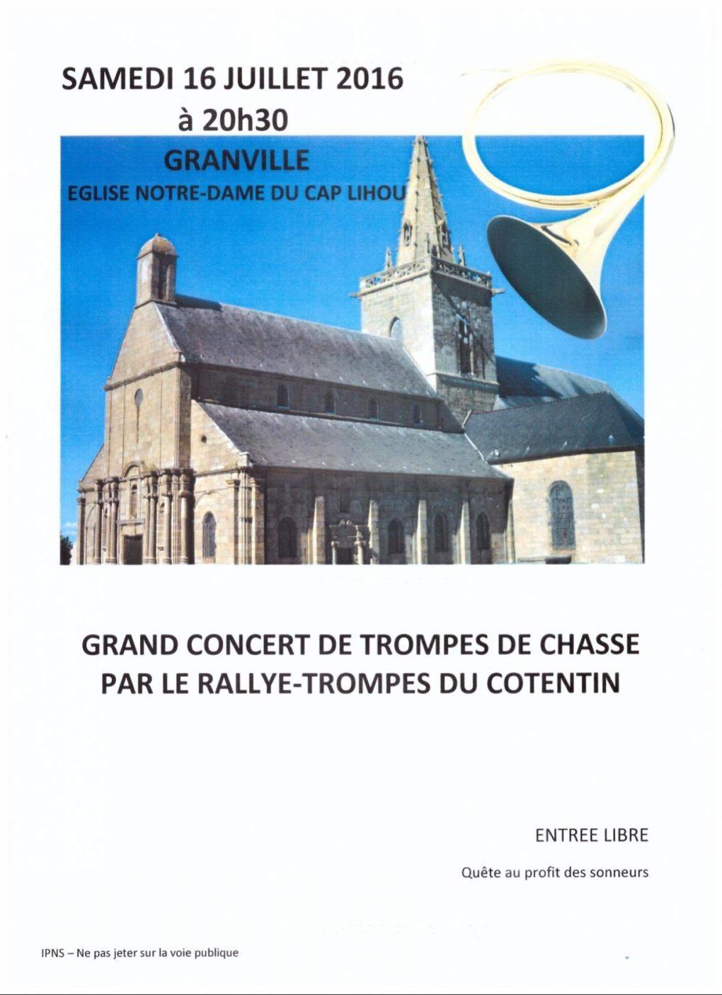 Rallye-trompes du Cotentin Granville