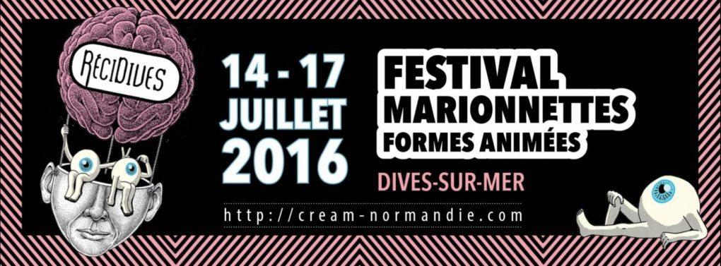 RéciDives festival de marionnettes et de formes animées Dives-sur-Mer