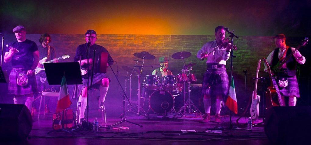 Rock celtique Highland Safari en concert Caen