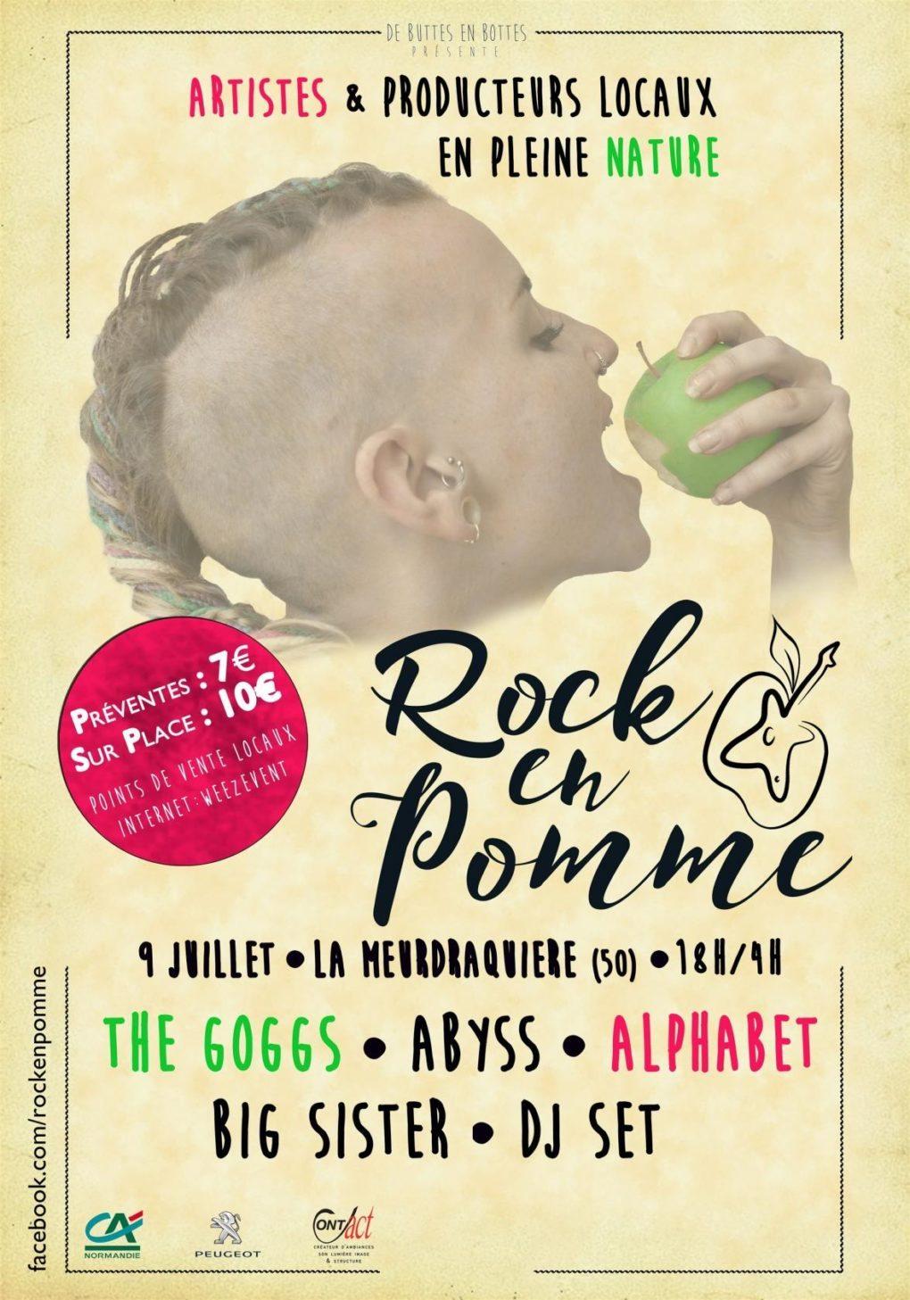 Rock en Pomme La Meurdraquière