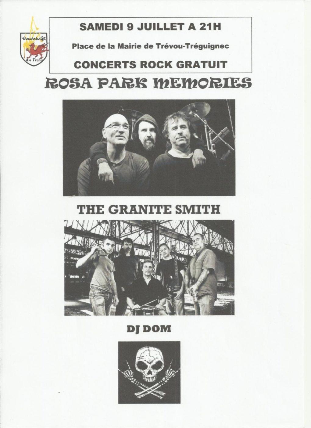 Rosa Parks Memories The granite Smith et Dj DOM Trévou-Tréguignec
