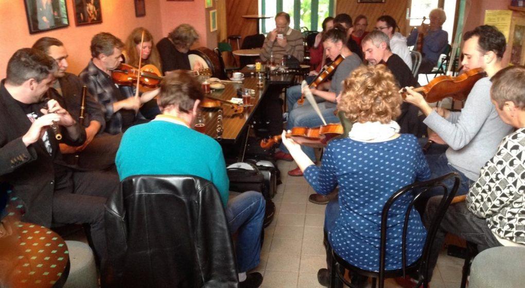 Session musique irlandaise Brid Harper et Tony O'Connell Trégastel