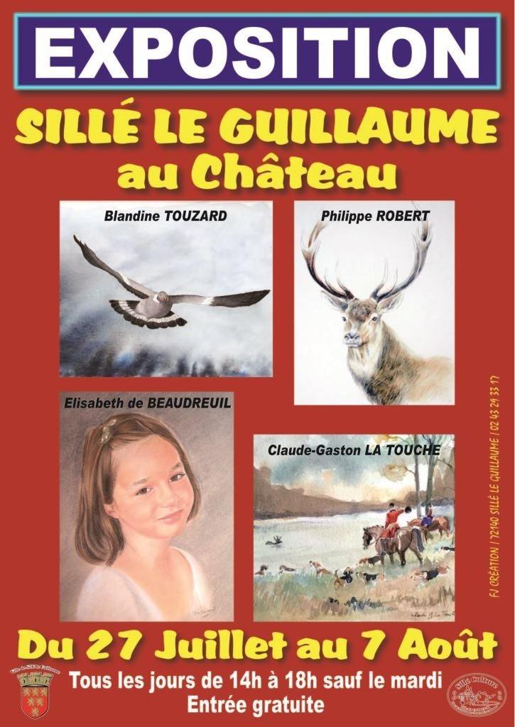 Sillé culture invite l'art animalier au château Sillé-le-Guillaume